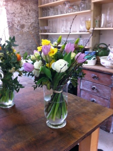 Beautiful British flowers arranged by a beginner at CommonFarmFlowers